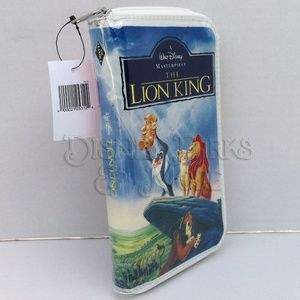 Disney The Lion King VHS Wallet/Clutch Purse